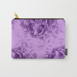 Purple Peonies Dream #1 #floral #decor #art #society6 Carry-All Pouch