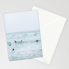 Tiny Surfers Lima, Peru 2 Stationery Cards
