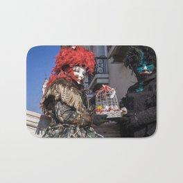 Carnival masks in Venice, Italy Bath Mat