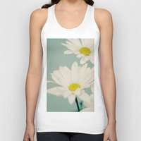 daisy Tank Tops featuring DAISY  by Laura Ruth