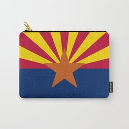 Arizona State Flag Carry-All Pouch