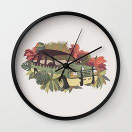 Jurassic Car Wall Clock
