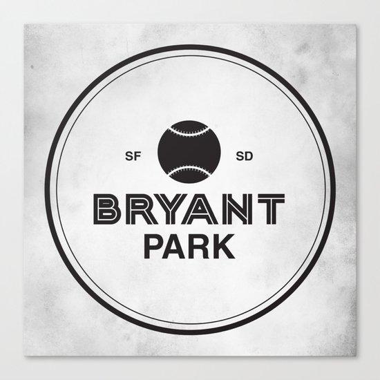 Bryant Park Canvas Print