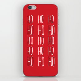 Ho Ho Ho iPhone Skin