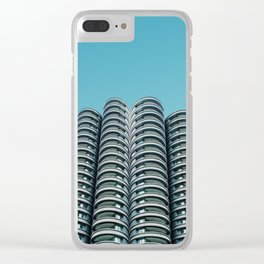 Wilco towers Clear iPhone Case