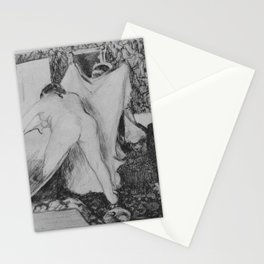 Leaving the Bath Stationery Cards
