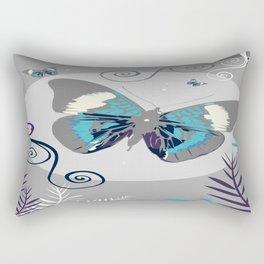 Butterflies At Night Rectangular Pillow