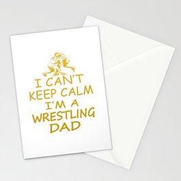 I'M A WRESTLING DAD Stationery Cards