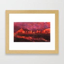 Ait Ben Haddou Framed Art Print