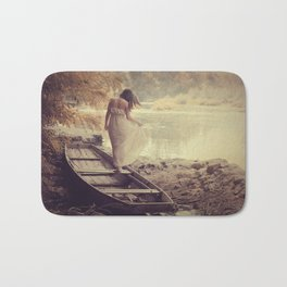 Forgotten shores Bath Mat