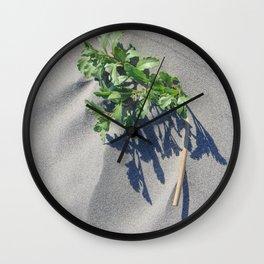 Shoreline Shadow 2 Wall Clock