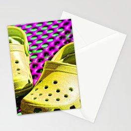 Pop Art Crocs By Sharon Cummings Stationery Cards