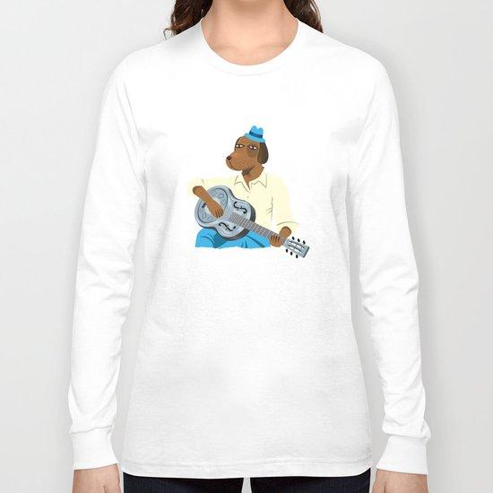 Hound Dog Slim Long Sleeve T-shirt