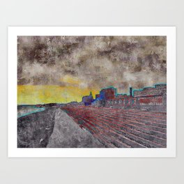 Downtown III Art Print