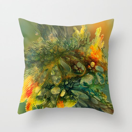 The Flavor of Autumn Throw Pillow