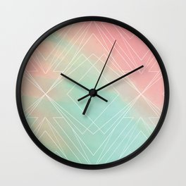 The Coral Tribe Wall Clock
