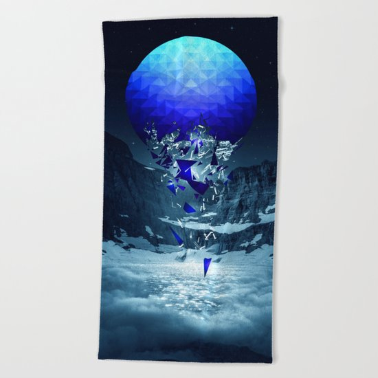 Fall To Pieces II Beach Towel
