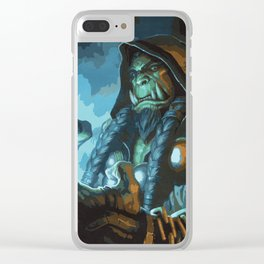 Thrall Clear iPhone Case