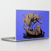 rat Laptop & iPad Skins featuring rat fight by antoniopiedade