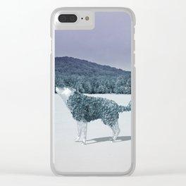 Lonewolf Clear iPhone Case