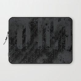 piano keys and music sheet pattern wsbgr Laptop Sleeve