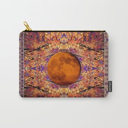Super Moon in Autumn, Full Moon, Celestial Event Carry-All Pouch