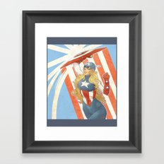 FemCap Framed Art Print