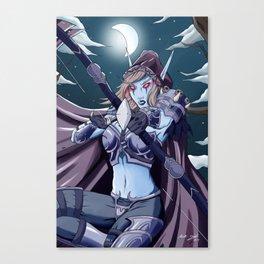 Lady Sylvanas Canvas Print