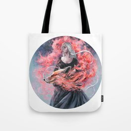 DragonFox Tote Bag