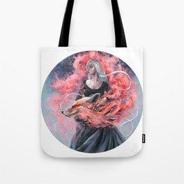 DragonFox Tote Bag