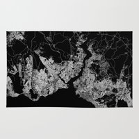 istanbul Area & Throw Rugs featuring Istanbul  by Line Line Lines