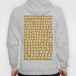 Dots / Mustard Hoody