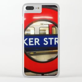 Ticket to ride. Clear iPhone Case