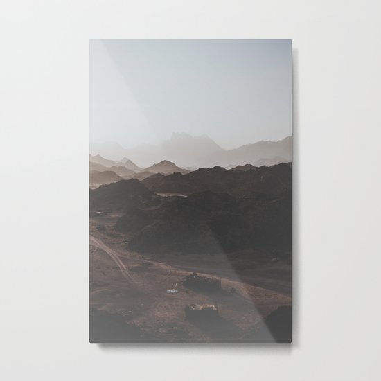 Desert of Egypt III Metal Print