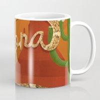 arizona Mugs featuring Arizona by Santiago Uceda