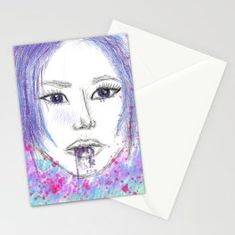 Colorful Margo Stationery Cards