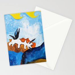 Orange Nudibranch Stationery Cards