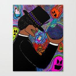 He's the Magic Man... Canvas Print
