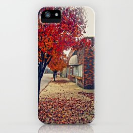 Autumn in Downtown Ironton iPhone Case