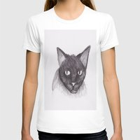 kitty T-shirts featuring Kitty by Adrian Casanova