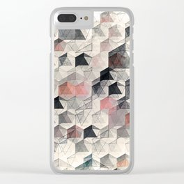 as the curtain falls (variant) Clear iPhone Case