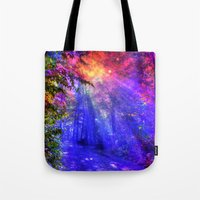 once upon a  time Tote Bags featuring Once upon a time by haroulita