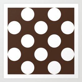 Café com bolas Art Print
