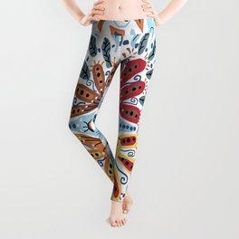 Spanish Tiles Leggings