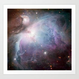 Orion Nebula Space Photo Art Print