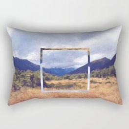 New Zealand Square Rectangular Pillow
