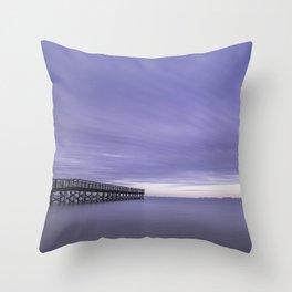 Moody Days of Winter III Throw Pillow