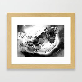 Light and Dark Matter Framed Art Print