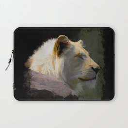 Regal White Lion Laptop Sleeve