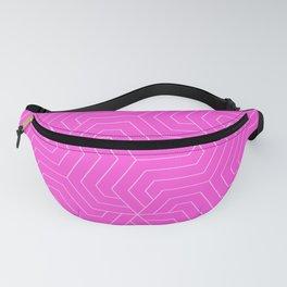 Purple pizzazz - pink - Modern Vector Seamless Pattern Fanny Pack